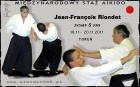 Relacja XXXVI Międzynarodowy Staż Aikido, Jean-François Riondet shihan 8 dan